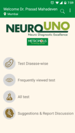NeuroUno Android App By Metropolis