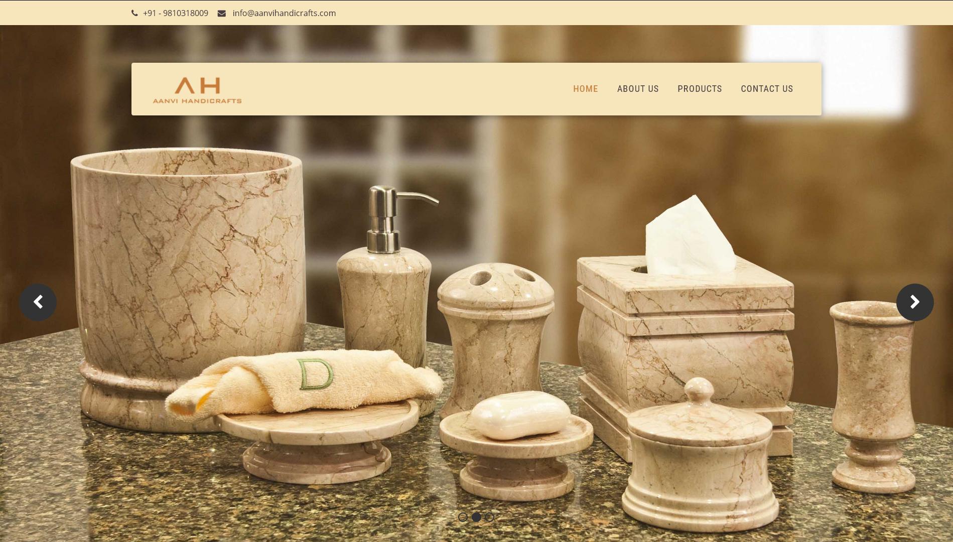 Aanvi Handicrafts Simplified Software Solutions India